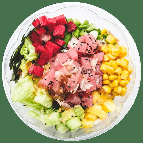 poke tuna havajska brza hrana beograd