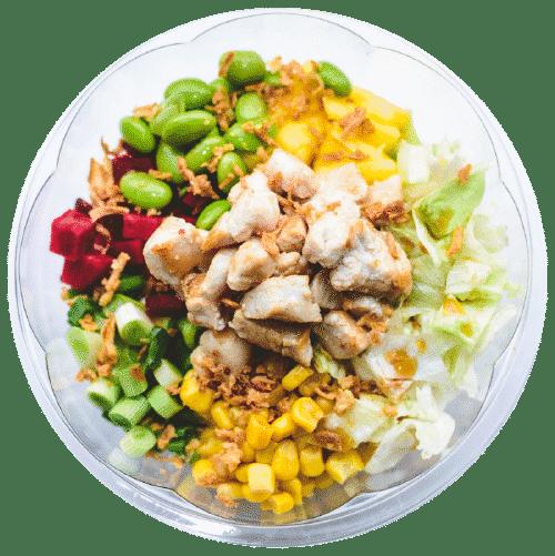 poke sa piletinom - havajska brza hrana beograd