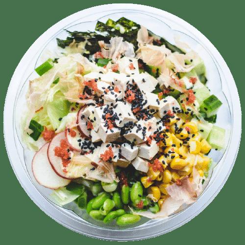 poke tofu - brza hrana za vegetarijance