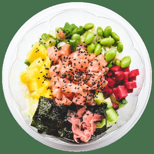 LOSOS POKE: sashimi
